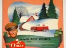 16th E 901 Omar 1954 Calendar