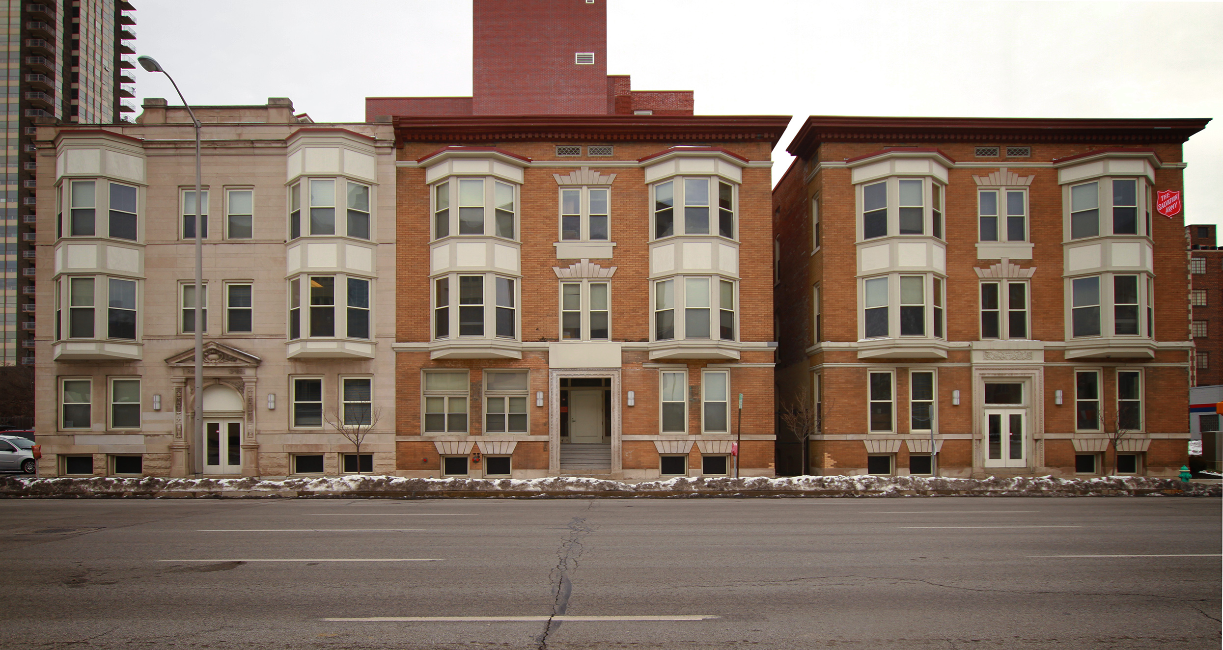 Flats Saved: North Delaware Street
