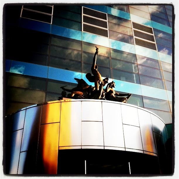 Friday Favorite: Central Library Statuary