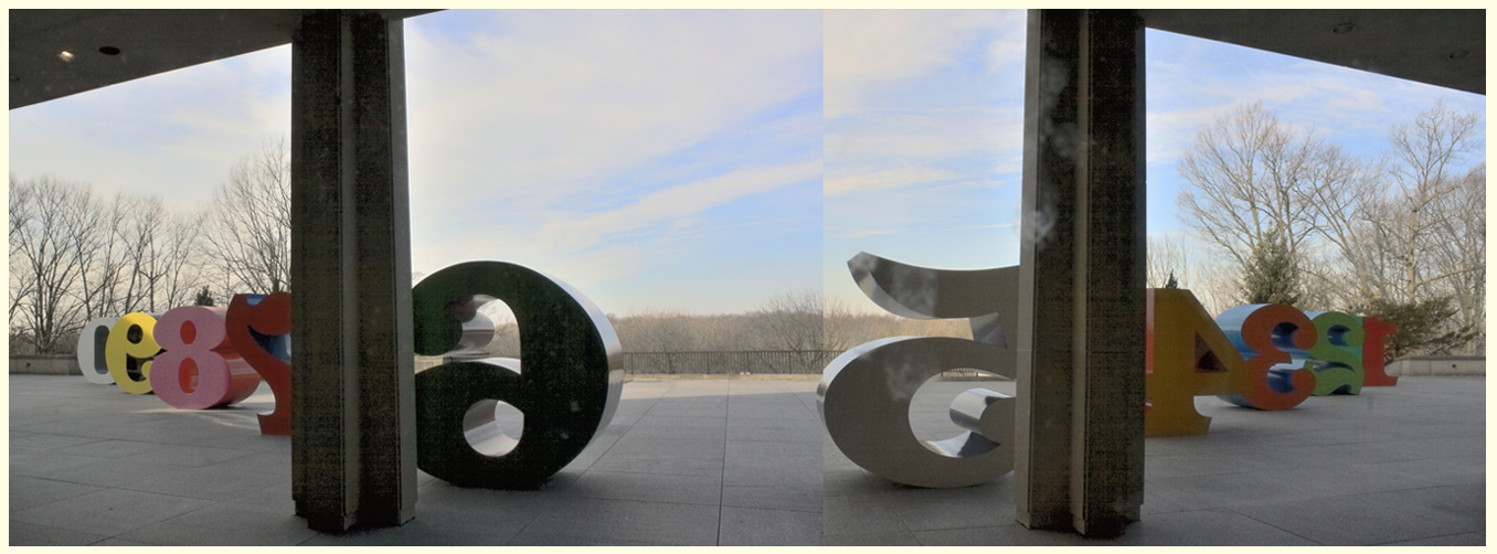 Room With A View – Robert Indiana's 'Numbers' – Indianapolis Museum of Art