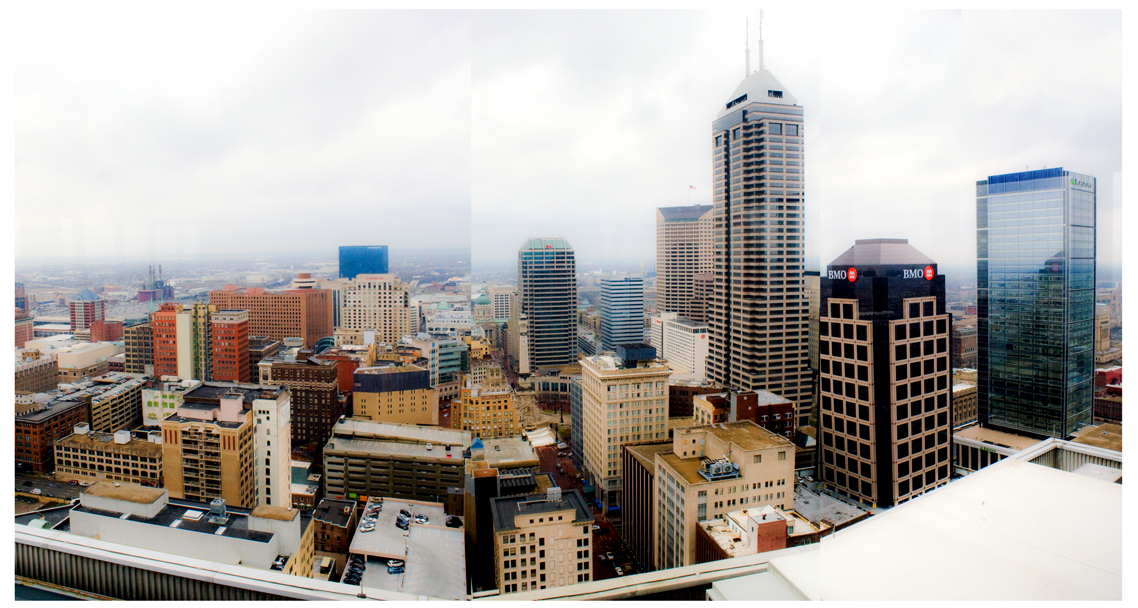 A Room with a View – City-County Observation Deck (western view)