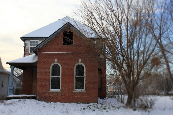 430 N. Walcott, as seen in January 2013. (Photo by Dawn Olsen)