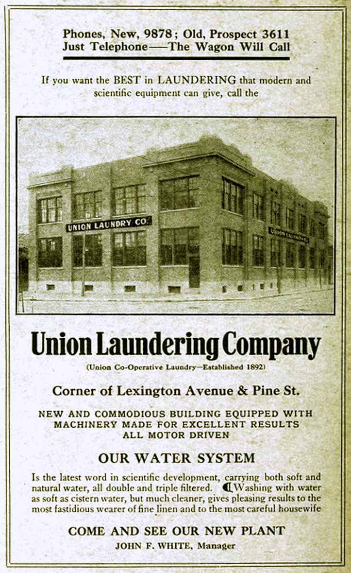 Indianapolis Then and Now: Union Laundry Company / Union Laundry Lofts, 735 Lexington Avenue