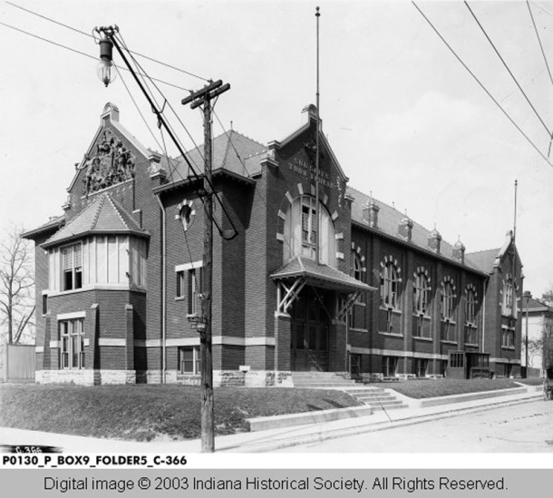 In 1908, the South Side Turners Club built a facilty at 306 Prospect Avenue