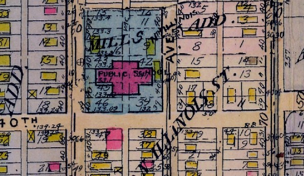 1927 Baist Map