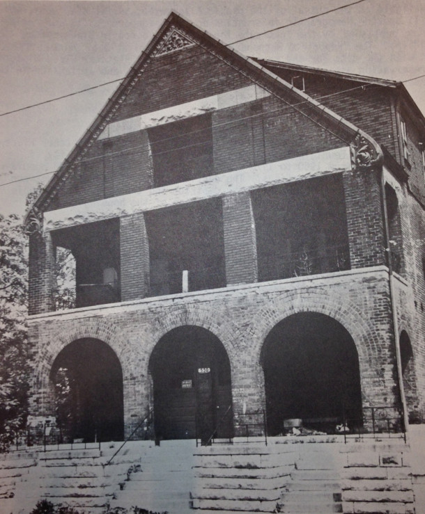 Briggs before renovation, ca. 1970's, IHPC Survey