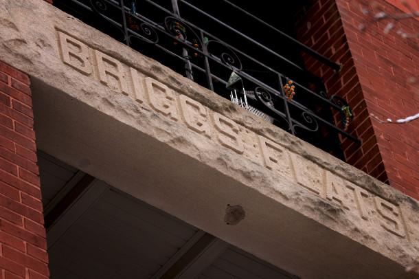 Briggs signage, 2013, (c) photo by Kurt Lee Nettleton