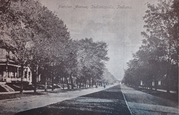 Esplanade on Fletcher Avenue, IHPC Survey, 1980