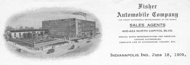 Fisher Automobile Company 1909