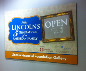 Lincoln Entrance Sign