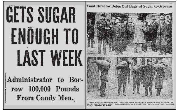 Sugar famine