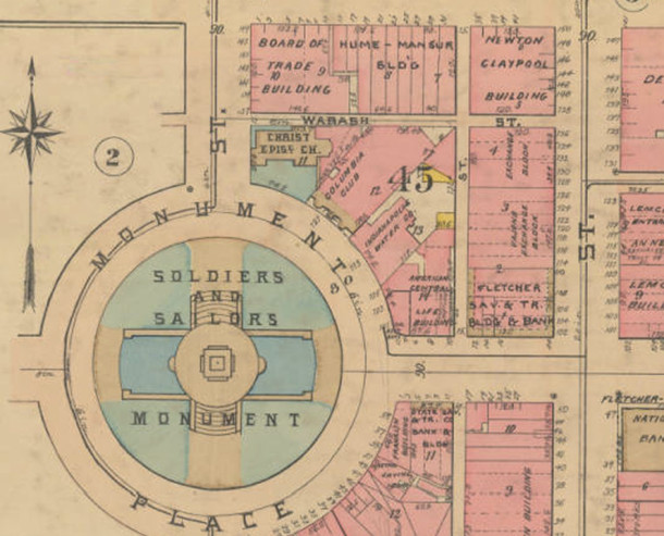 - Indianapolis Sanborn Map and Baist Atlas Collection, IUPUI