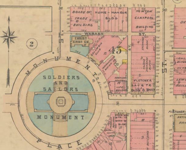 - Indianapolis Sanborn Map and Baist Atlas Collection, IUPUI