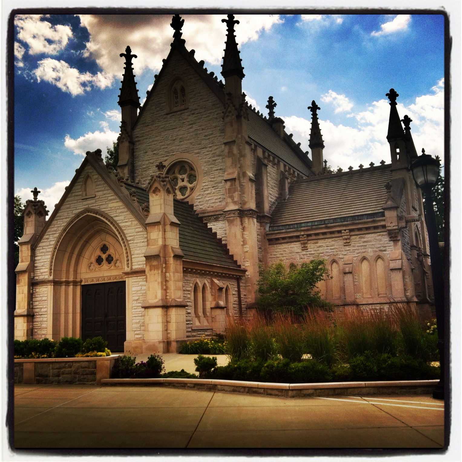 Friday Favorite: Gothic Chapel, Crown Hill