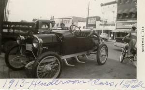 1913 Henderson Roadster (photo courtesy of Henderson, Kentucky)