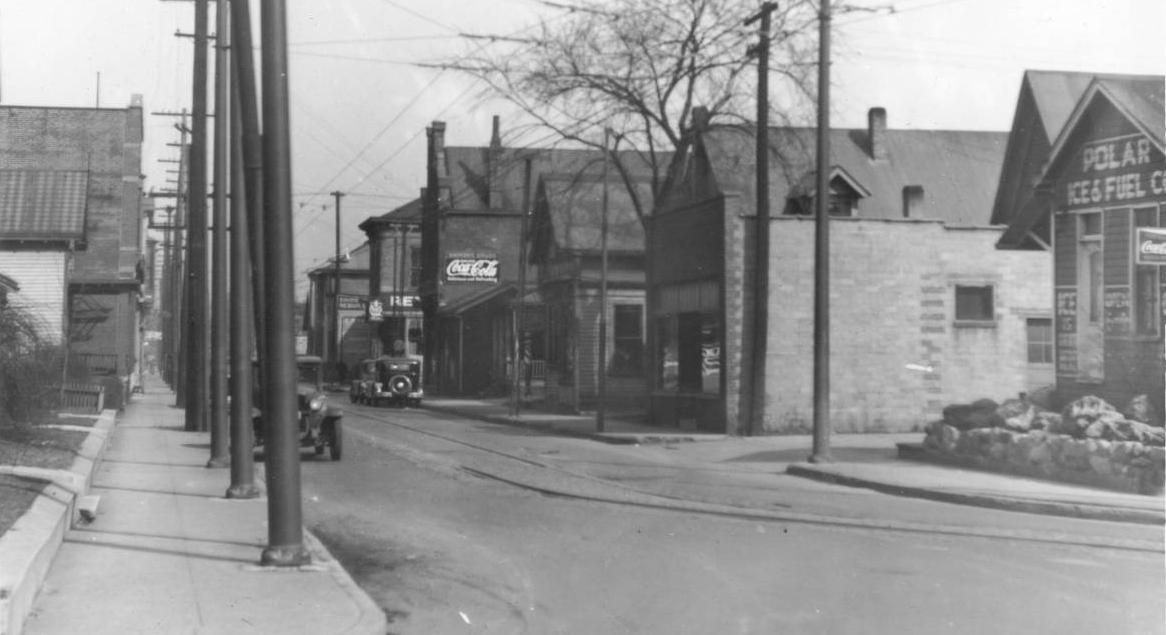 Indianapolis Then And Now 1100 Block Of S East Street