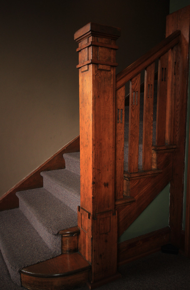 One of two stairs, 2013, (c) photo by Kurt Lee Nettleton
