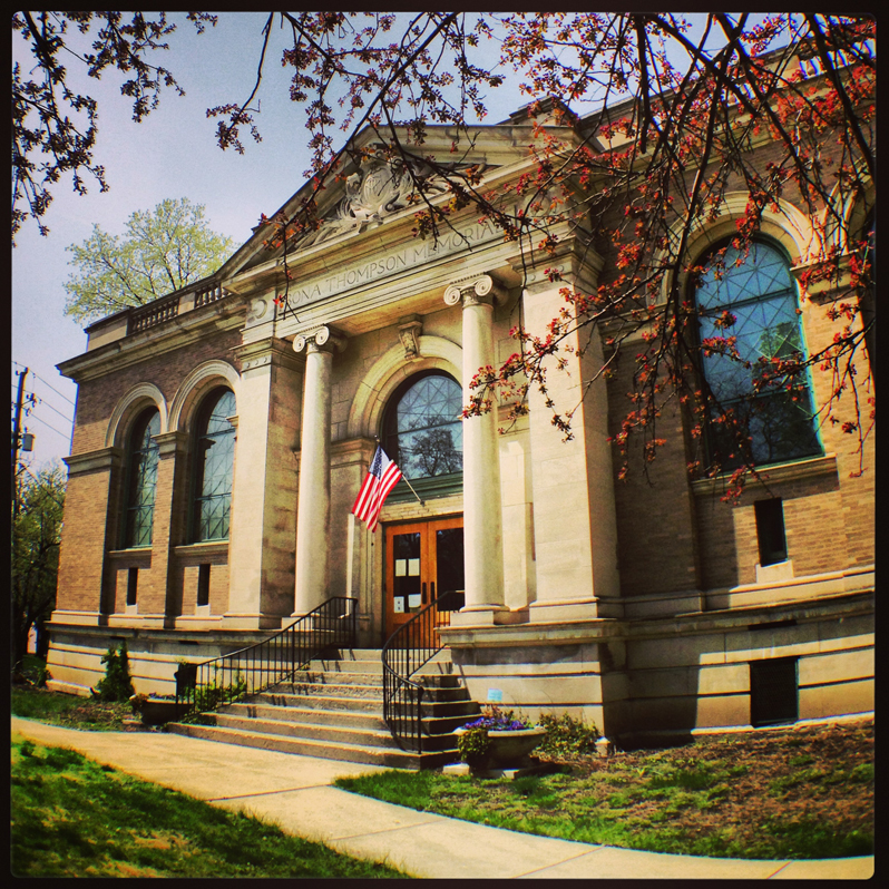 The Bona Thompson Memorial Building – Irvington Historical Society