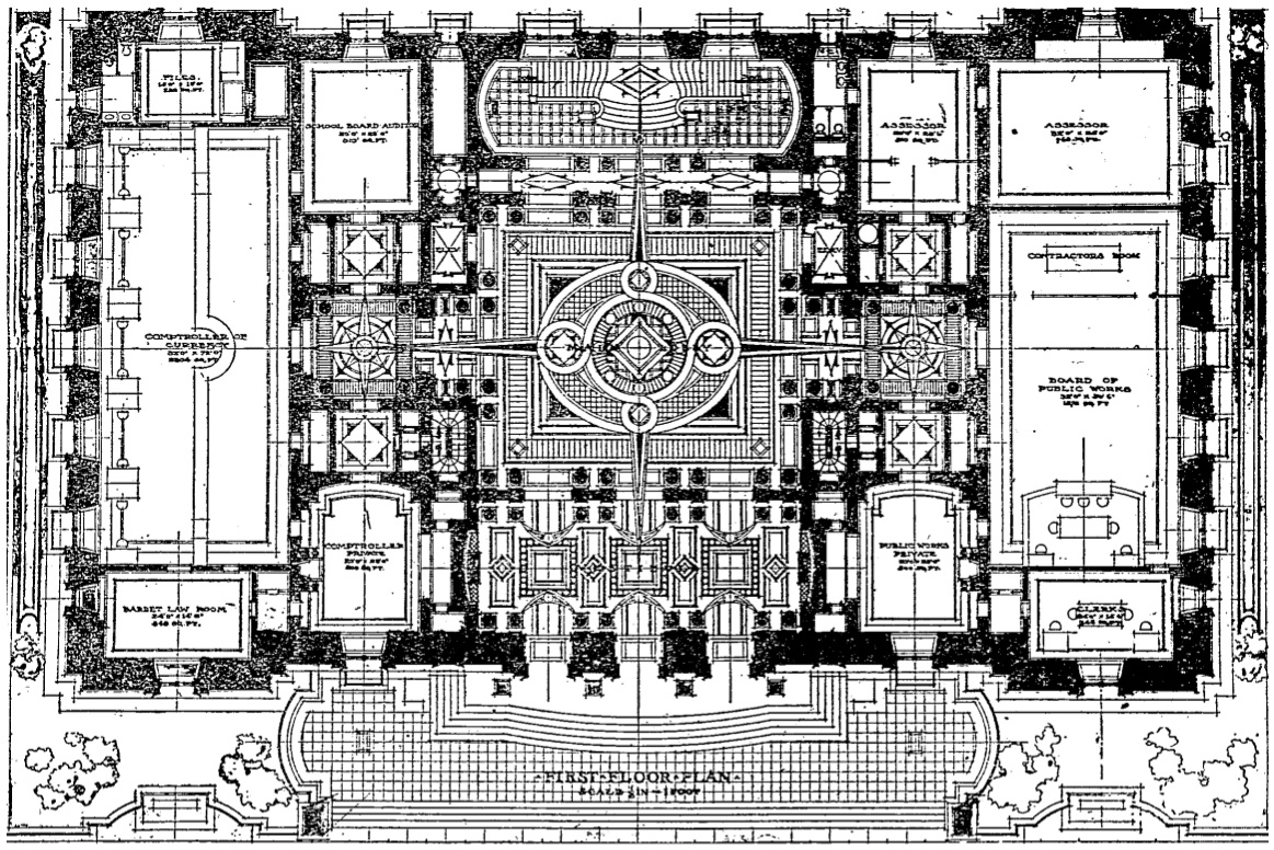 Vacant old city hall historic indianapolis all things for Estate home floor plans