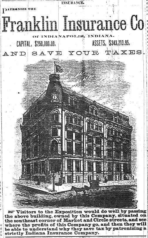 Sunday Adverts: Franklin Mutual Life Insurance Company