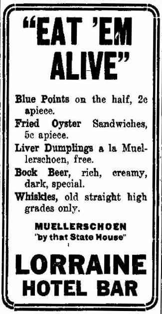 Advertisement, IndyStar, 10/19/1910