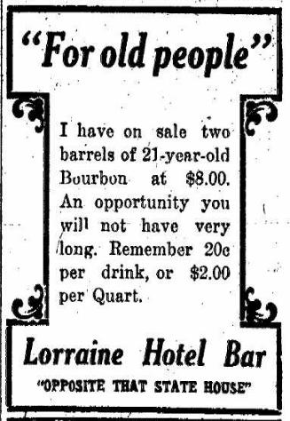 Advertisement, IndyStar, 2/25/1911