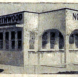 Detail of ca. 1940 Northwood Drive-In matchbook, courtesy of Evan Finch