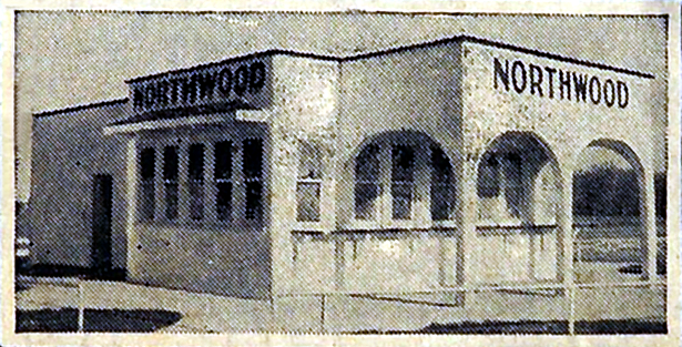 Indianapolis Then and Now: Northwood Drive-In, 9075 N. Meridian Street