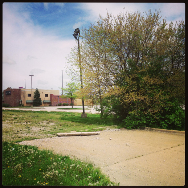 Location of the long-gone Paramount Music Palace (and recently gone Don Pablo's) - Photo by Ryan Hamlett