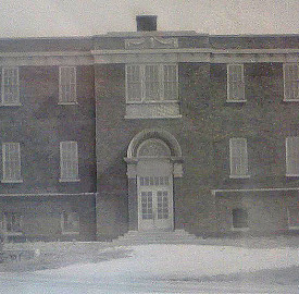 Pike Township School No. 11 stood on the southeast corner of 52nd Street and Lafayette Road (photo courtesy of the Pike Township Historical Society)