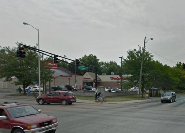 Interestingly, Walgreen Drugs was the first tenant in the MaCo Building that was replaced by a modern Walgreens (courtesy of Google maps