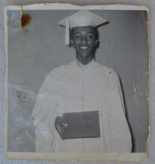 Luther's graduation from Crispus Attucks High School, 1958. Courtesy of Luther Duke.