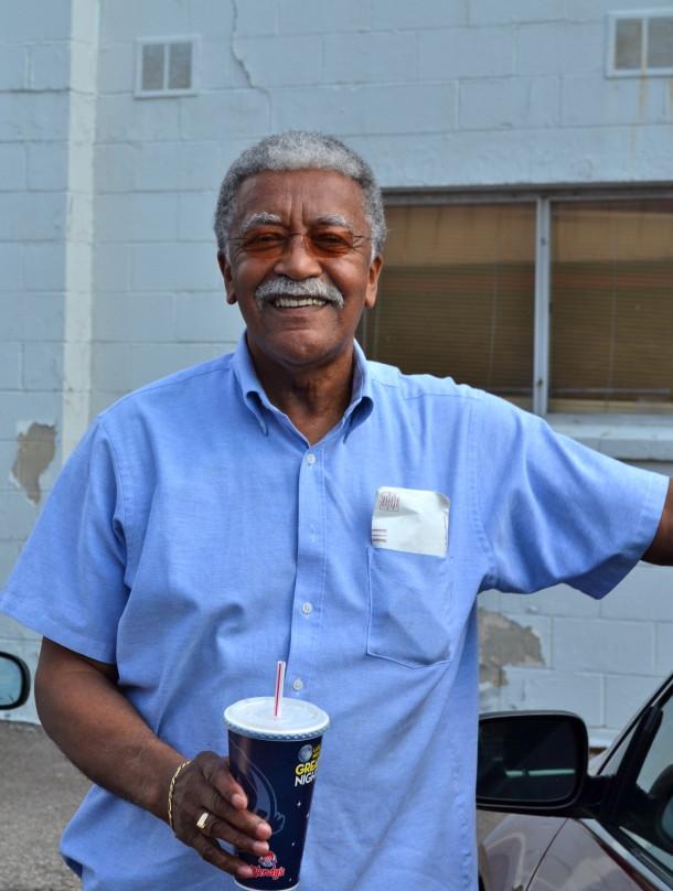 Luther Duke, age 73. Photo by Ellen Davis.