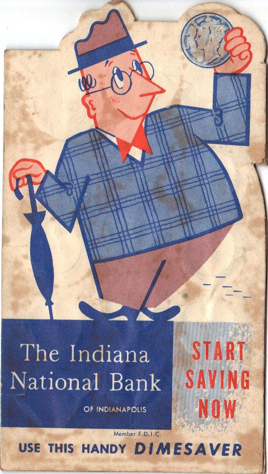 Sunday Adverts: Indiana National Bank of Indianapolis