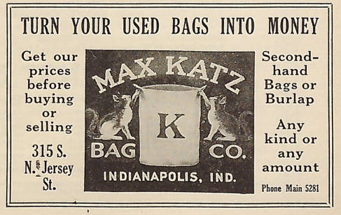 Sunday Adverts: Max Katz Bag Company