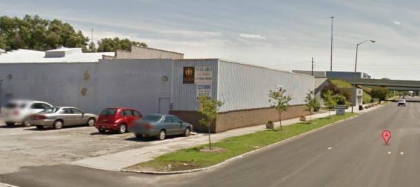 Google Street View, IUPUI University Library, 2011