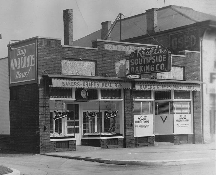 Indianapolis Then and Now: Kraft's South Side Baking Company, 915 S. Meridian Street