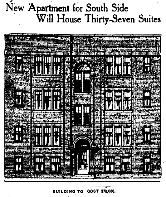 Pinex Courts, IndyStar, 4/19/1919