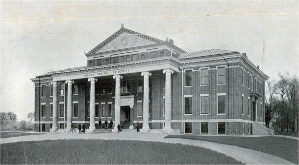 The original building on campus has been renovated and is now called Good Hall