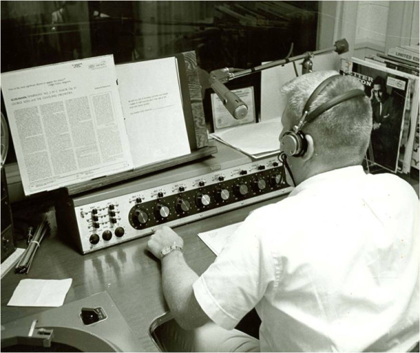 WICR 88.7 FM is a popular public radio stationed owned by UIndy and operated by students and faculty (photo courtesy of University of Indianapolis)