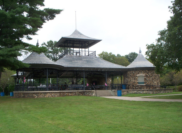The Pagoda was built in 1903 (photo by Sharon Butsch Freeland)