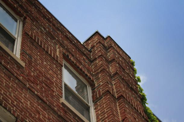 Brick details, 2013, (c) photo by Kurt Lee Nettleton