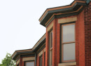 Bay window details, Rafert Flats, 2013, (c) photo by Kurt Lee Nettleton