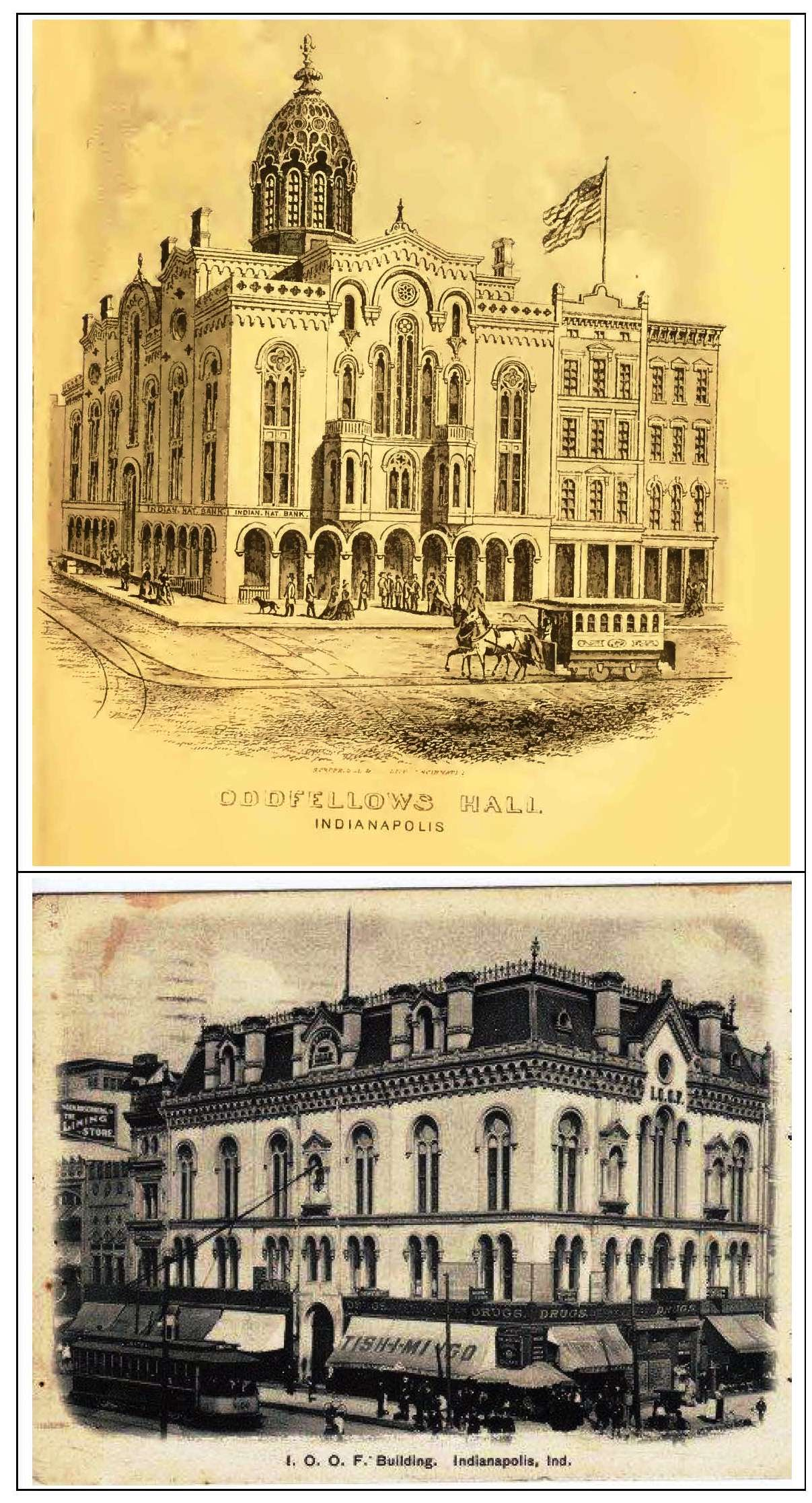 Indianapolis collected showdown at the odd fellows lodge historic old buildingspage1 biocorpaavc Image collections