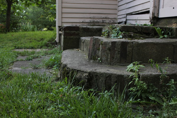 back steps (photo by Dawn Olsen)