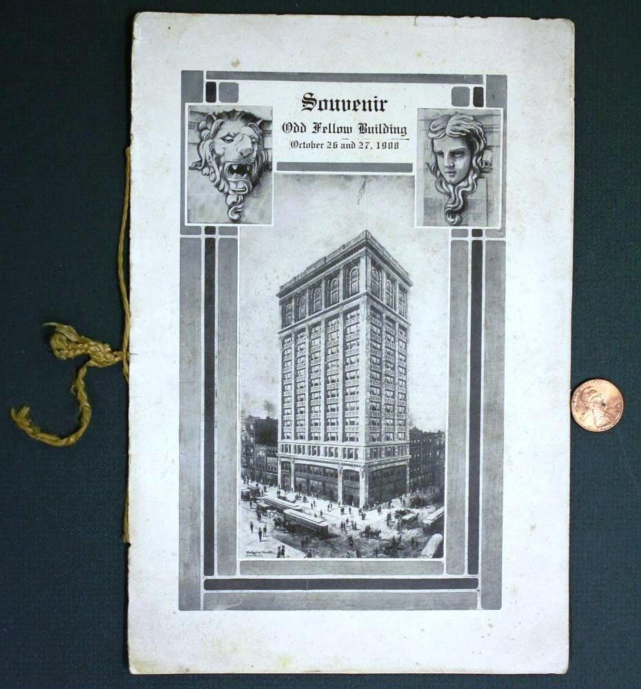 Indianapolis collected showdown at the odd fellows lodge historic program cover biocorpaavc Image collections