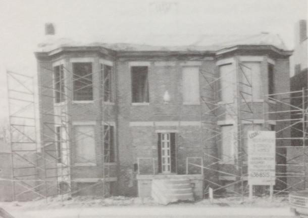 Rafert Flats before renovations, St. Joseph Historic Area Plan, 1991