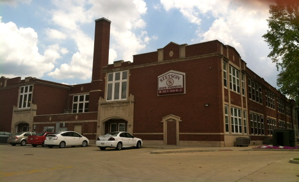 School 76 has been converted into Stetson Senior Complex at 30th and College Ave.
