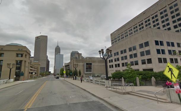 West Ohio Street today. 2013 Google Maps.