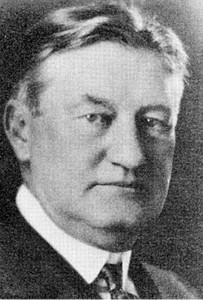Real Estate Developer William Line Elder (photo courtesy of University of Indianapolis)